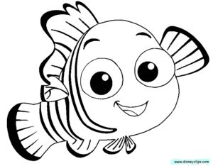 Finding Nemo Coloring Pages Nemo coloring pages, Finding