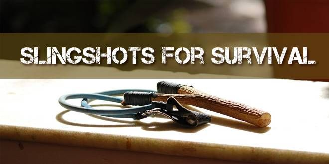 Slingshots for Survival. Because when SHTF, You'll Be David