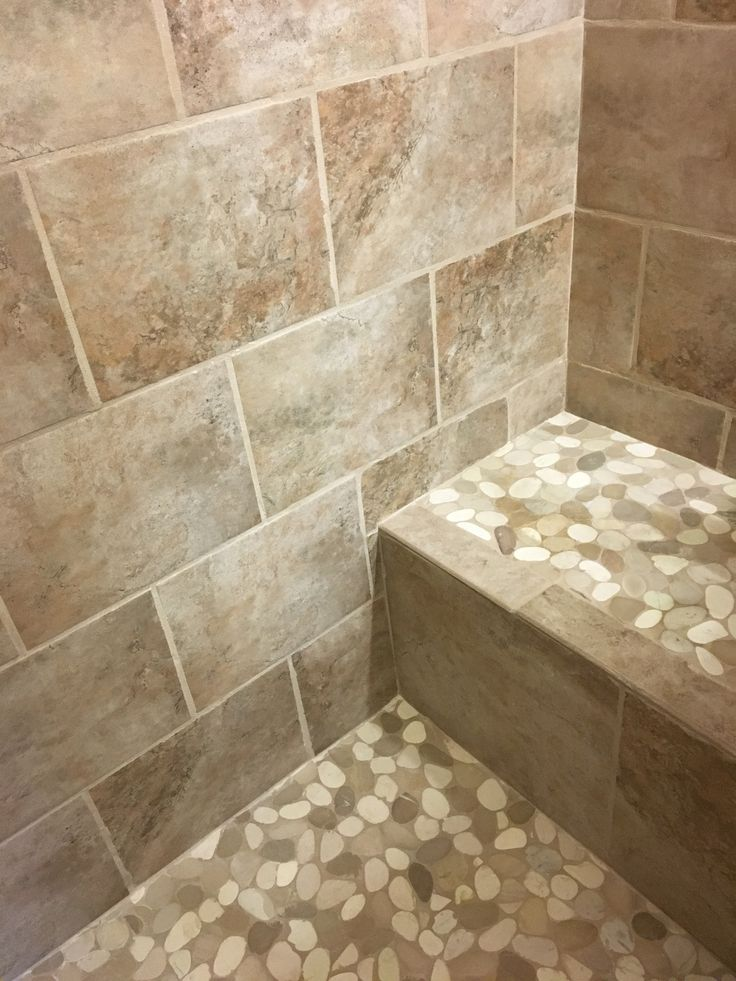 542 Best Bathroom Pebble Tile And Stone Tile Ideas Images