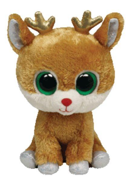 #Reindeer #Beanie Boos #Christmas Beanie Boo                                                                                                                                                                                 Mais