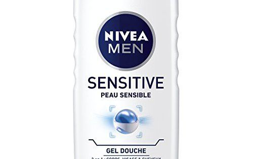 nivea men gel douche sensitive peau sensible 3en1 2 250 ml pour les hommes qui ont la peau. Black Bedroom Furniture Sets. Home Design Ideas