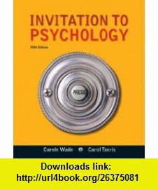 Invitation To Psychology 5Th Edition is beautiful invitation example