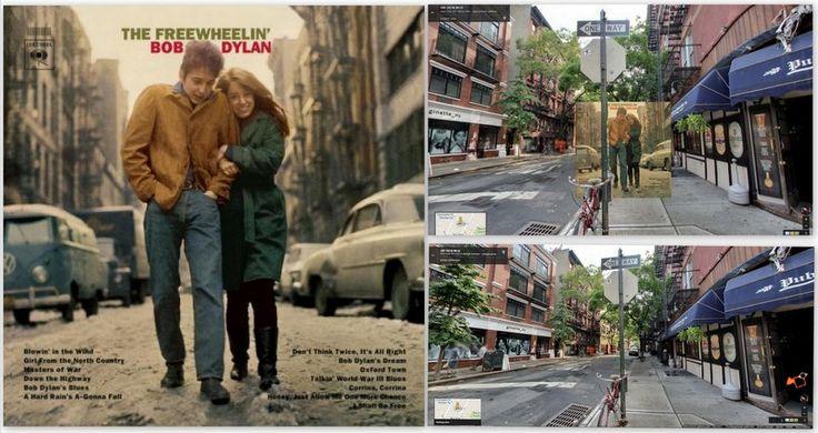"""Bob Dylan –  """"The Freewheelin' Bob Dylan"""" Albümü / KLASİKLEŞMİŞ 12 ALBÜM KAPAĞI NEREDE ÇEKİLDİ?"""