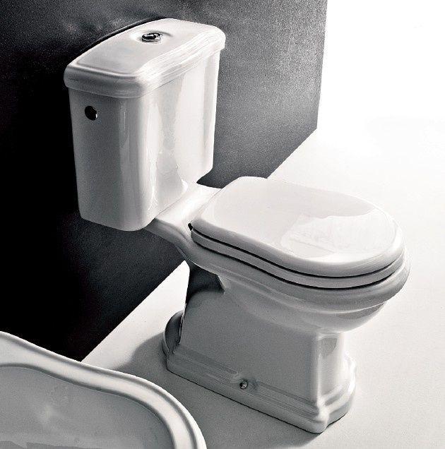 Kompakty WC : Kerasan Retro Kompakt biały 1012+1081+7509