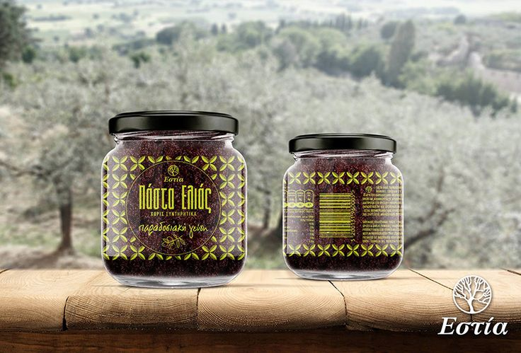 """Estia"" Tapenade Our goal is our products (Traditional Taste, Spicy Taste and Hot Taste) to win a position in peoples everyday eating habits, to promote the Mediterranean Diet and to contribute to its scientifically proven benefits. That is our vision. Greek Olive Oil Tapenade, Traditional Taste Gentle garlic undertone. No extra olive oil added only what comes from the tapenade itself. Net weight 260g"