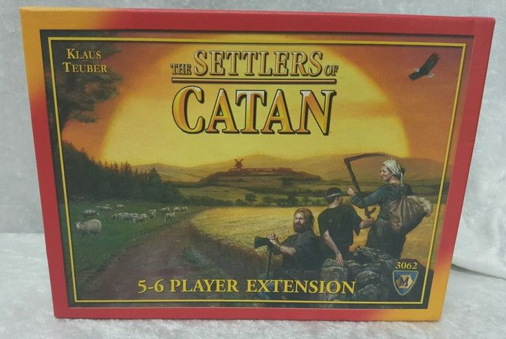 The Settlers of Catan 5-6 Player Extension Pack 3062 #MayfairGames