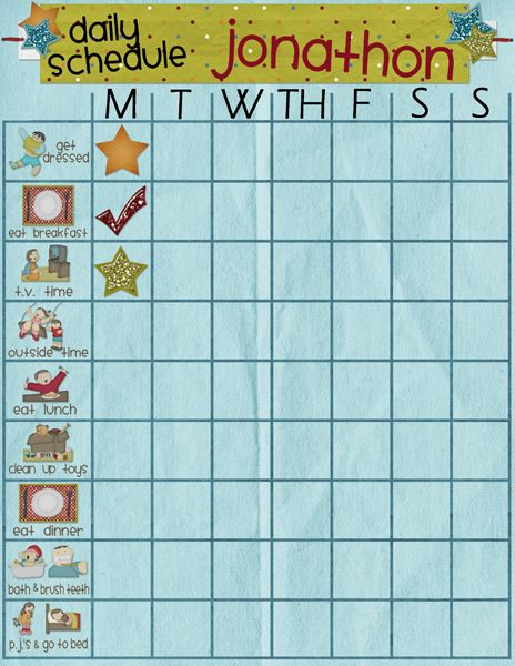 weekly schedule template for kids - best 25 daily schedule kids ideas on pinterest daily