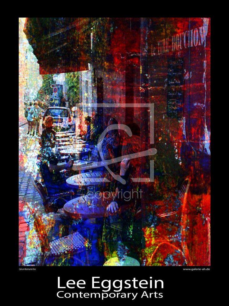 Lee ,Eggstein,Cafe , Cafeszene , Kunst der Malerei / Fotografie ,Menschen ,Onlineshop / abstrakte malerei, akt, art, kunstmalerei, abstrakte kunst, ak…