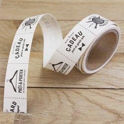 Etiquettes / Labels tissu pour ouvrages Tricot - Fait main - Kesi'Art