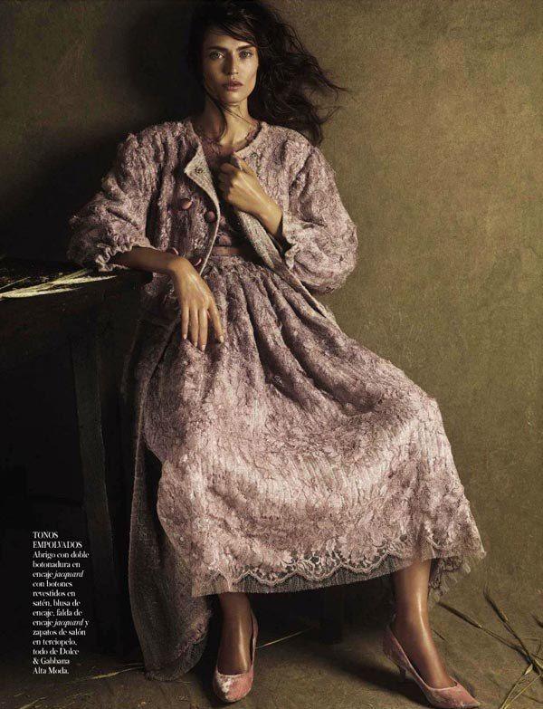 ru_glamour: Бьянка Балти для Vogue Spain, Октябрь 2012