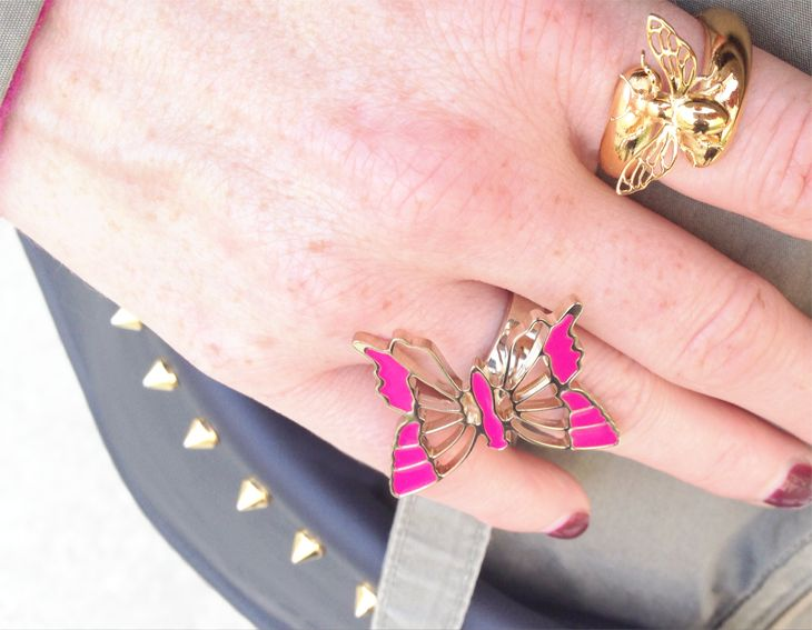 #bijoux #necklace #colors  #butterflies  #RING @ipstyle