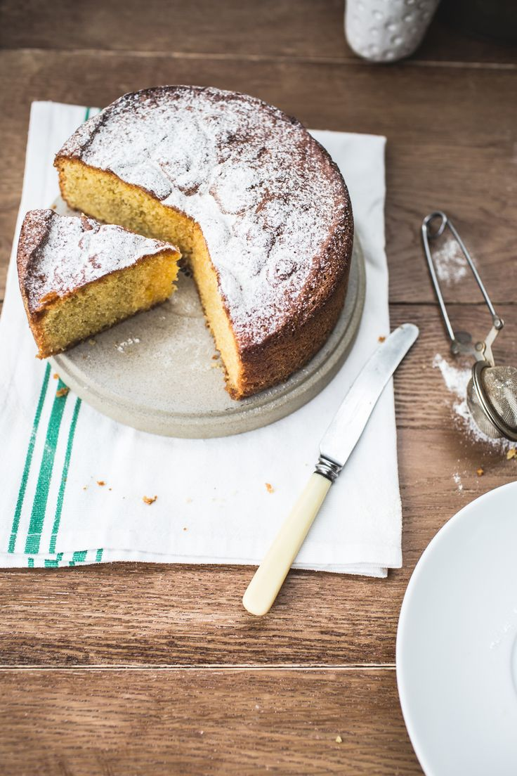 A simple dairy- and wheat-free lemon cake that you'll return to again and again. You don't have to stick to lemons with Izy's recipe; orange zest and juice are also perfect here! Plus any seasonal fruit compote would work well as a topping.