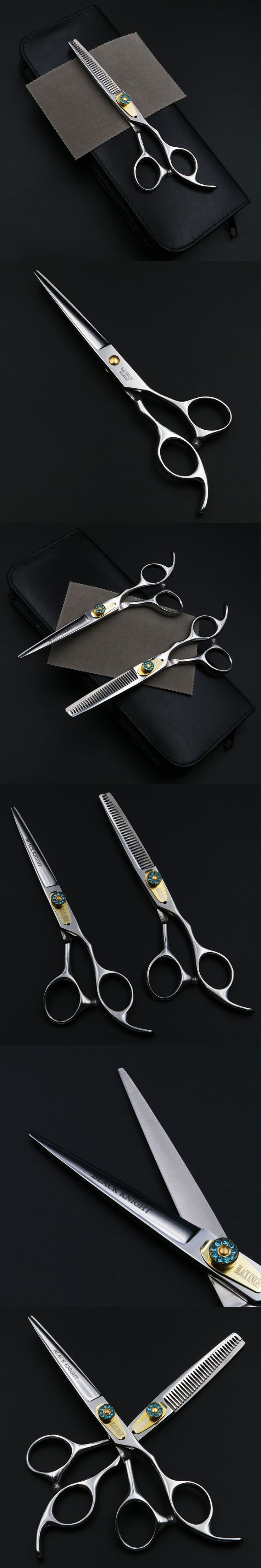 6 inch Professional Hairdressing scissors set Cutting+Thinning Barber Salon shears High quality Personality
