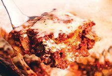 quick & easy meatless lasagna