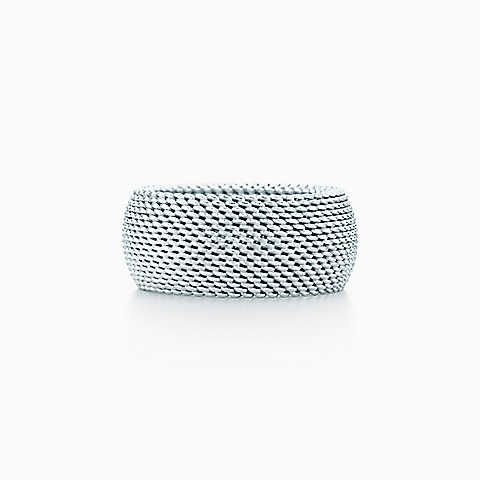 Tiffany Somerset™ domed ring in sterling silver.