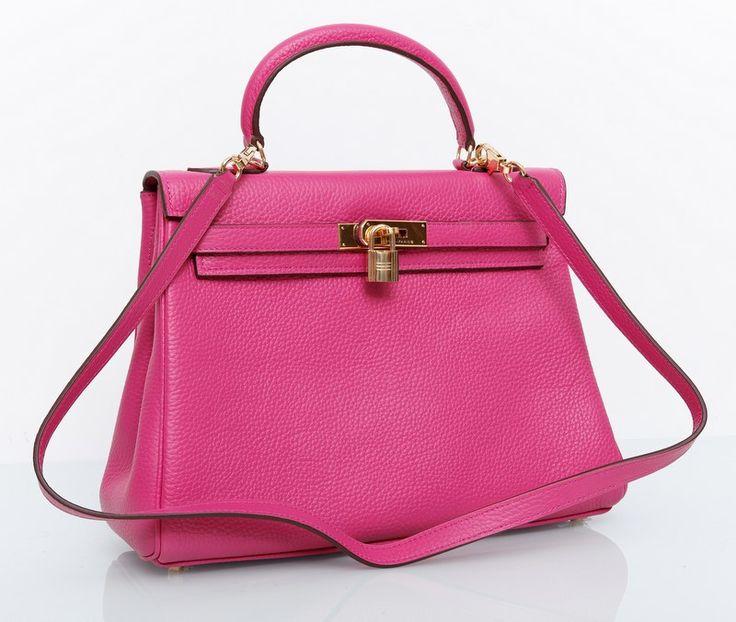Сумка Hermes Kelly (Эрмес Келли) розовая !! Распродажа модели !! Модель со скидкой !!