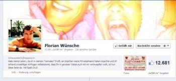 VL-Florian Wünsche: diese Fanaktion war gar nicht nach seinem Geschmack