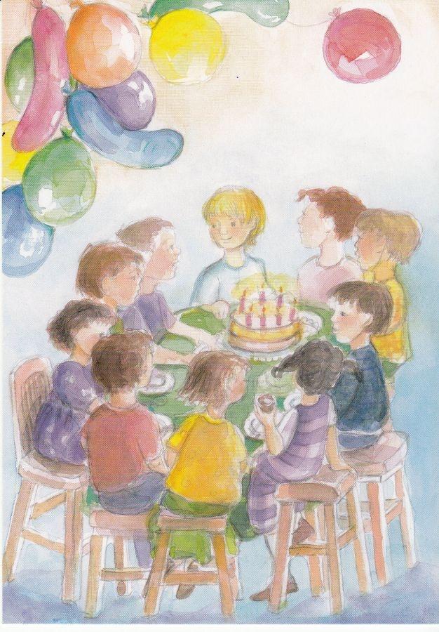 Kinderfeestje- Postcard - MijnHemeltje.nl
