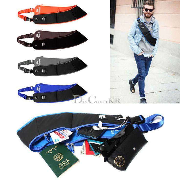 Outdoor Shoulder Bag Chest Type Leisure Cycling Hiking messenger Bag #Special design #Korea