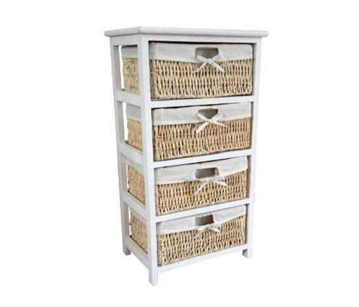 4 drawer chest unit cabinet bathroom bedroom storage cupboard maize baskets wood best 25  4 drawer storage unit ideas on pinterest   kitchen      rh   pinterest com