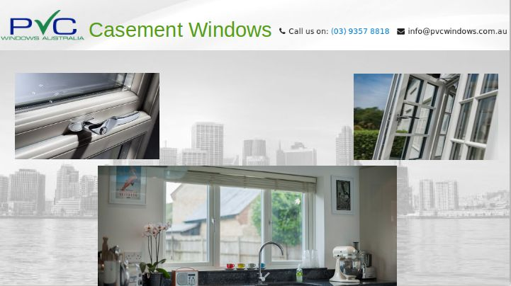Casement windows are blessed with feature of reflecting heat. And this feature ensures that when in summers, sun shines extra bright the internal temperature is not affected. https://goo.gl/8umJTw #CasementWindows