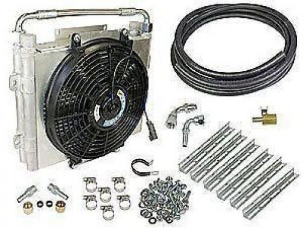 """Buy BD Diesel Universal Xtrude Double Stacked Transmission Cooler (1/2"""" Lines) at Platinum Performance Parts"""