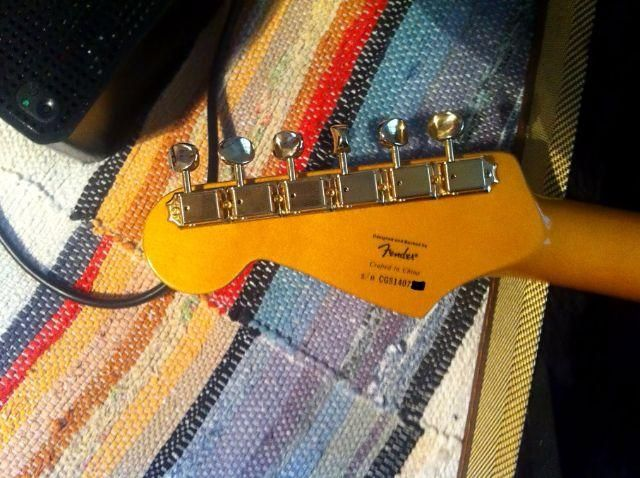 Fender Squier® stratocaster 60th Anniversary Classic Vibe *Com Case Tweed
