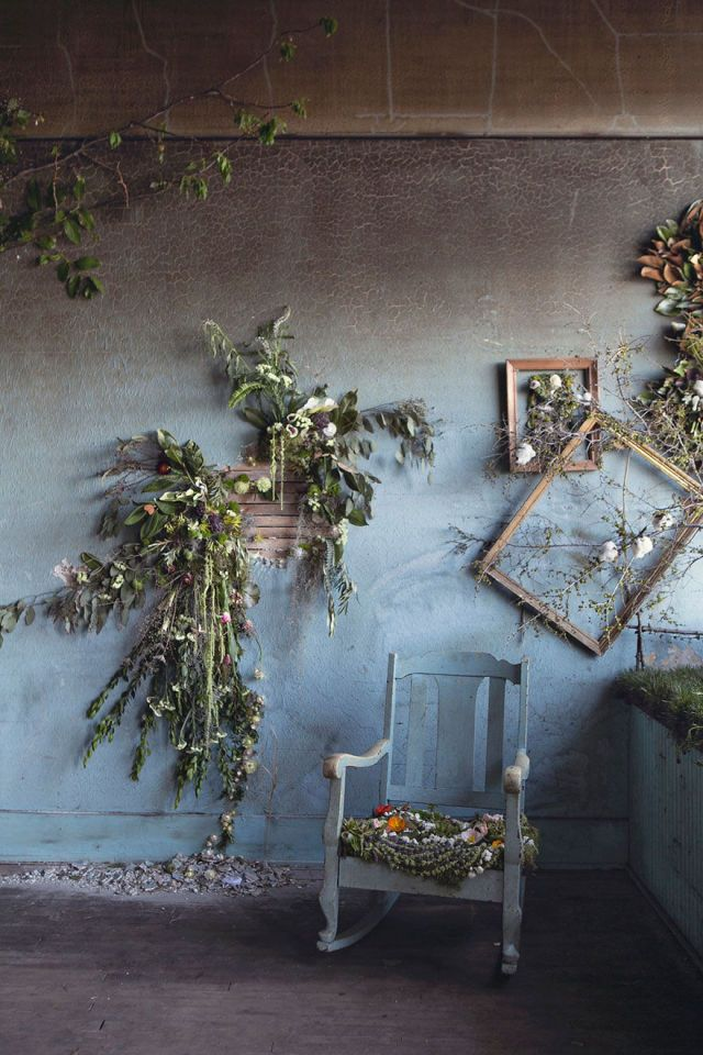 Take a Sneak Peek Inside the Abandoned House That's Being Filled with Flowers  - CountryLiving.com