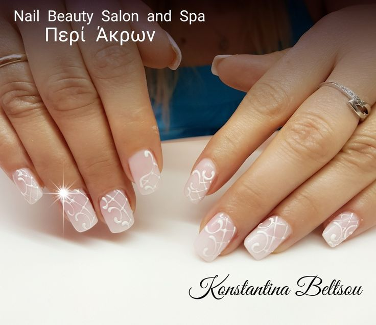 Natural Nails With Gel, Gel Polish Babyboomer Ombre French