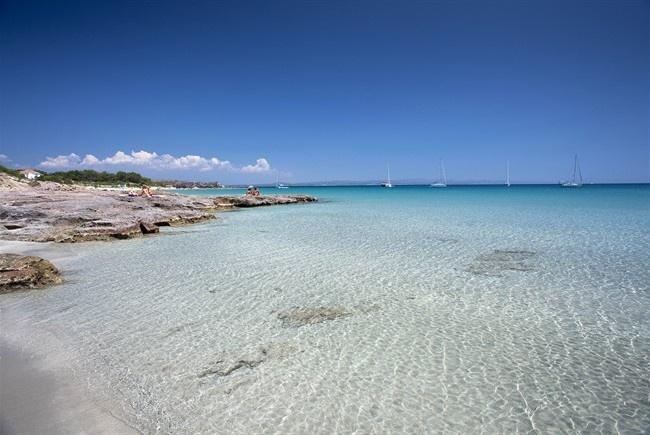 La spiaggia Guidi Carloforte