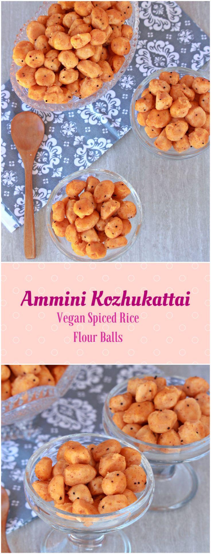 Ammini Kozhukattai   Vegan Spiced Rice Flour Balls ...