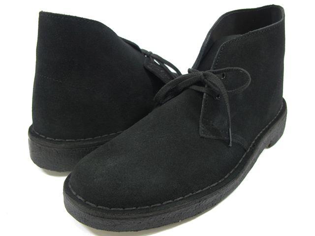 【楽天市場】 クラークス CLARKS 31691 DESERT BOOT BLACK SU メンズサイズ クラークス デザート ブーツ ブラック スエード:クラウド・シューカンパニー