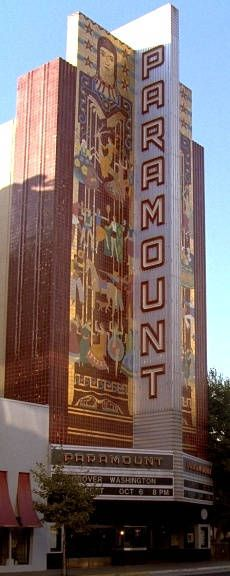 Paramount Theatre Oakland CA - seen many concerts here. Met Alicia Keys!