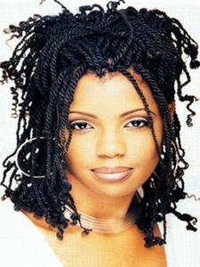 Nafy Collection Synthetic Kinky Twist Puffy Screw Hair