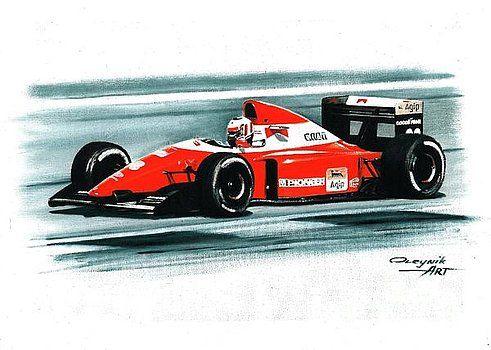 1993 Ferrari F93A by Artem Oleynik
