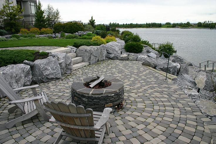 71 best hot tub images on pinterest hot tubs backyard for Landscape design calgary