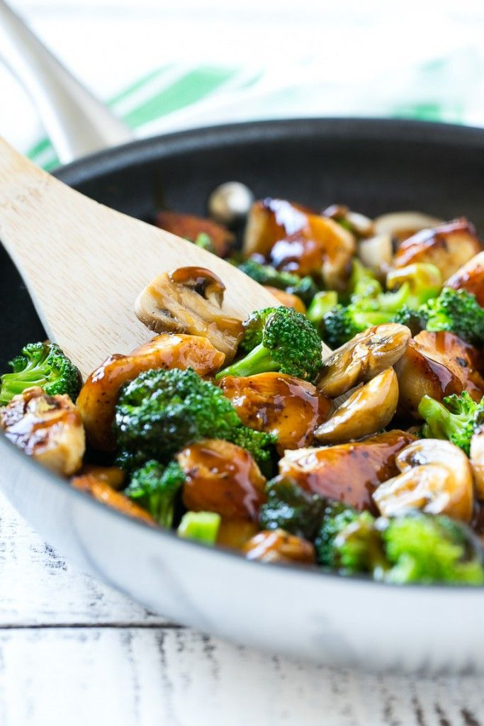 fry is a classic dish of chicken sauteed with fresh broccoli florets ...