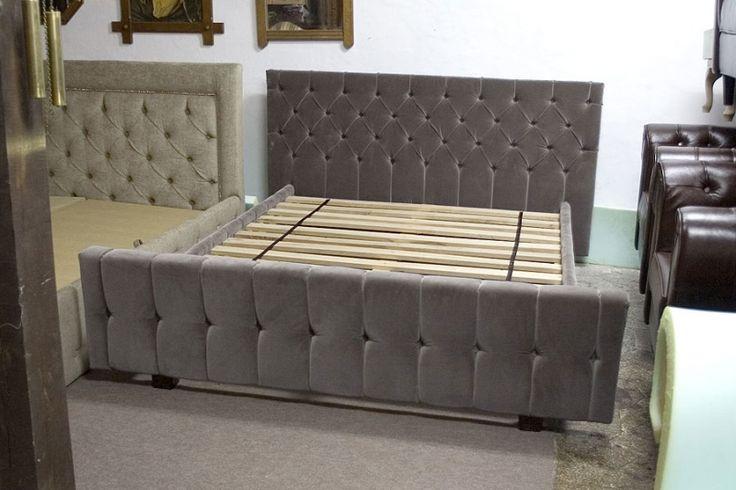Łóżko Chesterfield nr kat.2