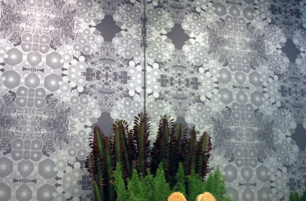 geometric Tectonic Fields wallpaper by HUXHUX Design