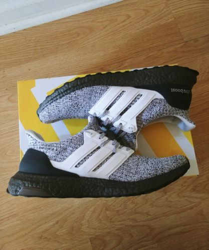 3ea2e773fb3 Adidas Ultra Boost Ultraboost 4.0 Cookies and Cream Oreo DS BB6180 Size 9