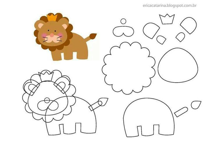 leeuw van vilt  Zelf maken? kijk voor vilt eens op www.bijviltenzo.nl