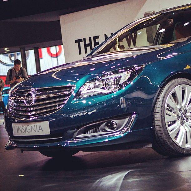 Say Hello to the new #Opel Insignia at the #IAA2013 #OpelIAA
