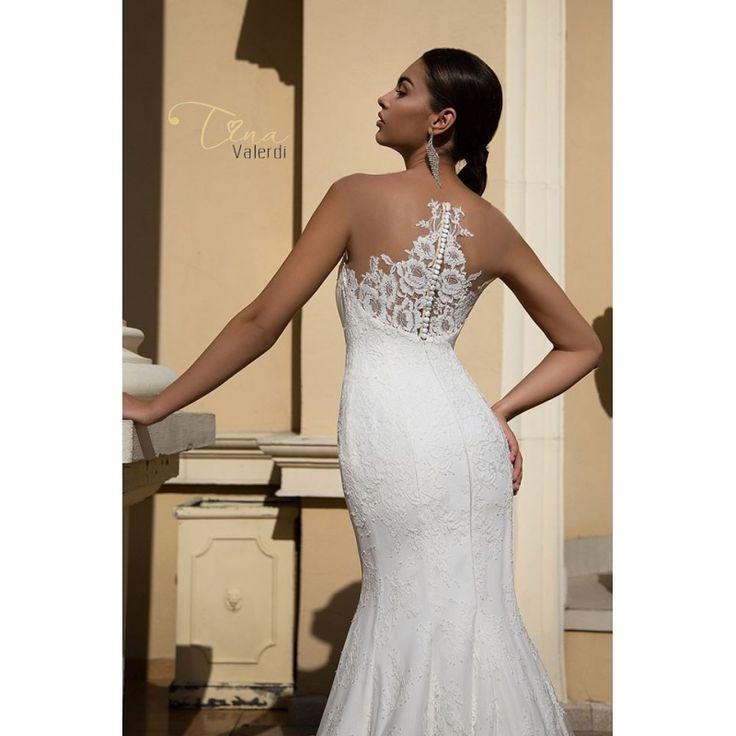Elegantné svadobné šaty v štýle morská panna