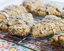free pantry pinter gluten free and sugar free lemon poppy seed scones ...