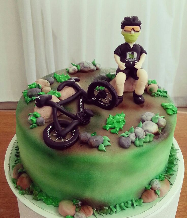 Torta Ciclista Cakes Pinterest