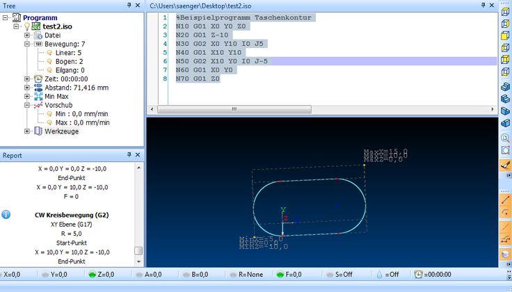 G-Code und CNC Programmierung - Was ist das? Der G-Code, auch DIN-Code genannt, ist die Maschinensprache, über die man mit der CNC-Maschine kommuniziert.