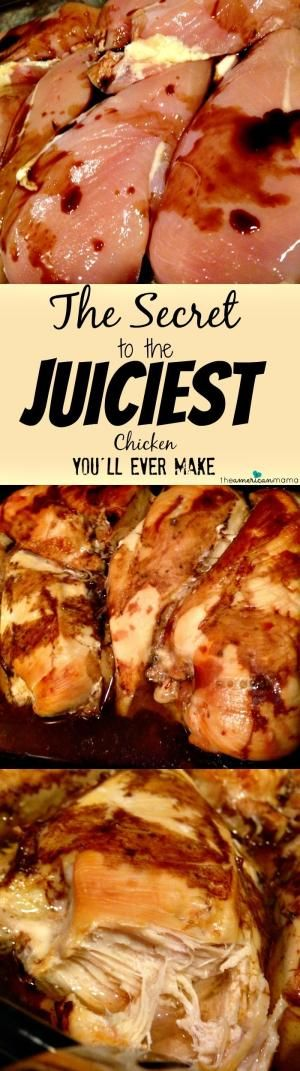 The Secret to the Juiciest Chicken (Turkey) You'll Ever Make ~ But it's not a recipe at all - it's science. And SO SIMPLE... It results in the juiciest chicken and turkey! by maxine