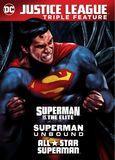 Justice League Triple Feature: Superman vs. the Elite/Superman Unbound/All Star Superman [DVD]