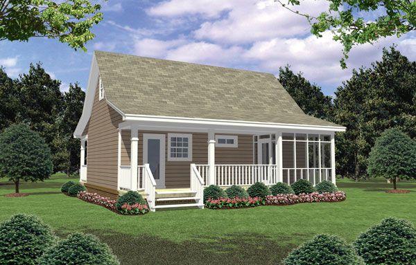 600 sq ft - House Plan ID: chp-33477 - COOLhouseplans.com