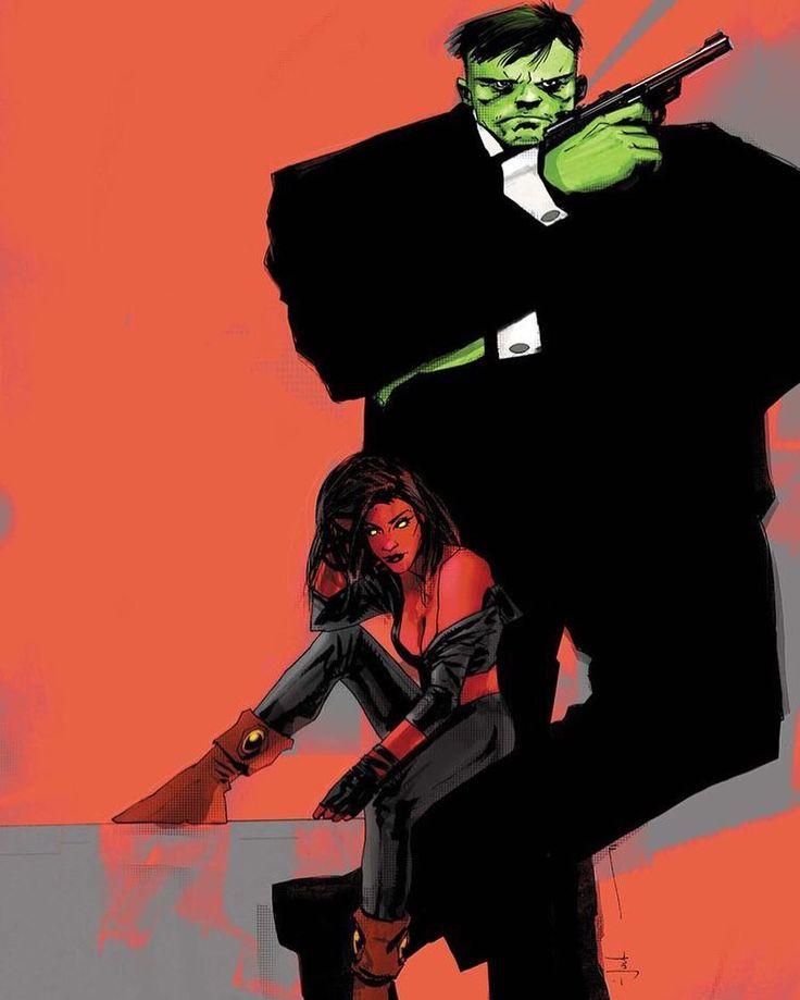Mr. & Mrs. Hulk.   Amadeus Cho  #Comics #comicbooks #avengers #ageofultron #marvel  #captainAmerica #Ironman #thor #hulk #hawkeye #blackwidow #spiderman #vision #scarletwitch #civilwar #spiderman #infinitygauntlet #blackpanther #deadpool #wolverine #daredevil #wintersoldier #uncannyavengers #teamironman #teamcap #thanos #drstrange http://ift.tt/20ldGU7